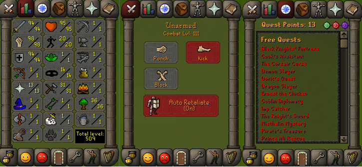 RS 07 Account (ATT 94, STR 98, DEF 94)