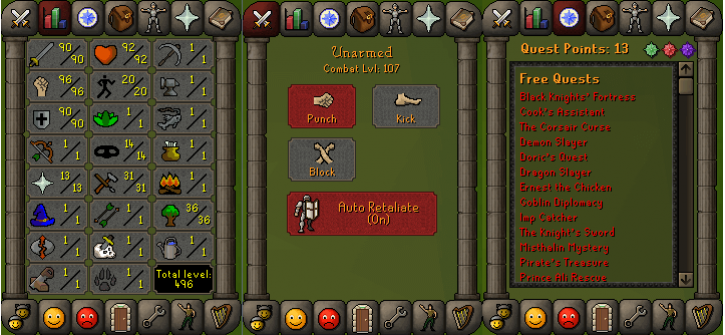RS 07 Account (ATT 90, STR 96, DEF 90)
