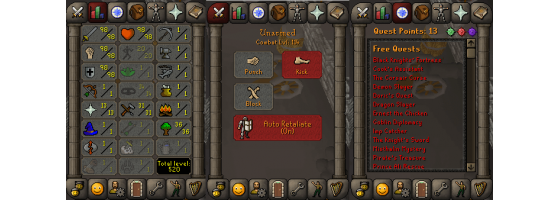 RS 07 Account (ATT 98, STR 98, DEF 98)