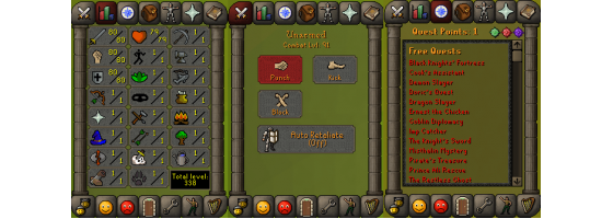 RS 07 Account (ATT 80, STR 80, DEF 80)