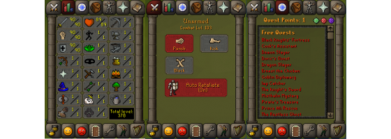 RS 07 Account (ATT 90, STR 90, DEF 90)