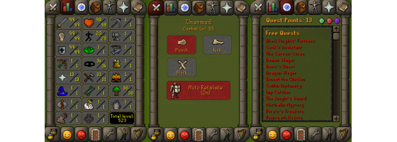 RS 07 Account (ATT 99, STR 99, DEF 99)