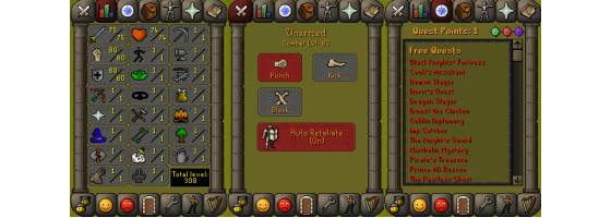 RS 07 Account (ATT 75, STR 80, DEF 60)