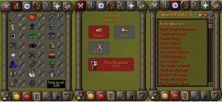 RS 07 Account (ATT 40, STR 90)