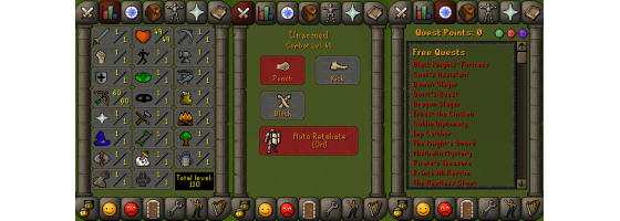 RS 07 Account (Ranged 60)