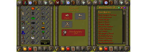 RS 07 Account (Ranged 80)